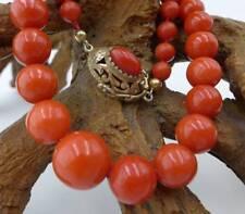 Elegante Edelkorallen Halskette 47,4 Gramm