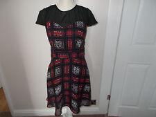 Polyester Checked Formal Regular Size Dresses for Women
