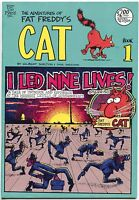 Adventures of Fat Freddy's Cat 1 H Rip Off Press 1988 VF 8th Printing