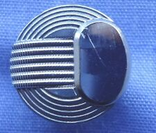 15mm Silver Shank Button