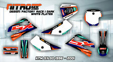 NitroMX Graphic Kit for KTM SX 50 SX50 1996 1997 1998 1999 2000 2001 Motocross