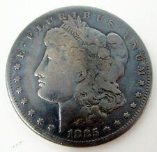 1885 Morgan Silver One Dollar Coin Liberty US No Mint mark