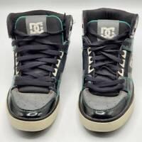 DC Mens Spartan HI WC Skate Shoes Black High Top Skateboarding Sneakers 302523 8