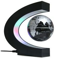 LED World Map Light Floating Globe Magnetic Levitation Anti Gravity Magic Lamps