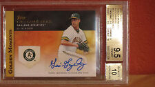 2012 Topps Golden Moments Gio Gonzalez Autograph Card BGS 9.5 Auto 10.