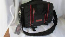 """Men's Laptop Document messenger bag black Nylon """"NOVELL"""" Never Used"""