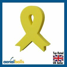 SALE...Yellow Ribbon - Remember our Troops, Men Women,  Aerial Ball Topper