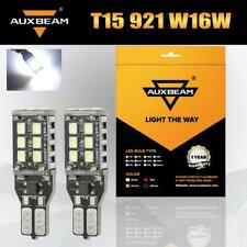 AUXBEAM T15 W16W LED Reverse Backup Light Bulb 921 for GMC Ford Chevy Error Free