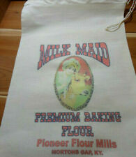 RL-35 MILK MAID Flour Bag Sack Feed Seed  Novelty Collectible
