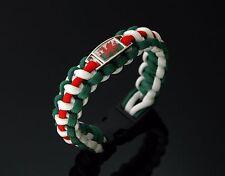 Wales Flag 550 Paracord Bracelet