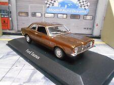 Ford Taunus Knudsen MKI 2 puertas marrón Brown met 1970 maxichamps Minichamps 1:43