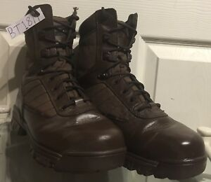 Brown Army Issue Bates Lightweight Tactical Combat Boots Male 8M BT18M