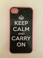 Keep Calm and Carry On iPhone 4s Case