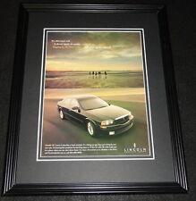 2001 Lincoln LS 11x14 Framed ORIGINAL Vintage Advertisement