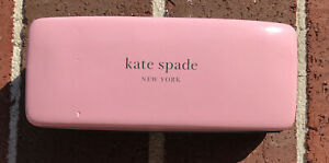 *Kate Spade Hardshell Pink/Green Sunglass Case