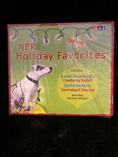 New-NPR Holiday Favorites: David Sedaris, Martha Stewart, Father Sarducci—2CDs