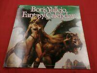 Boris Vallejo Fantasy Calendar 1983