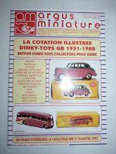 Revue ARGUS DE LA MINIATURE N°186 juillet aout 1997 dinky toys GB 1931-1980
