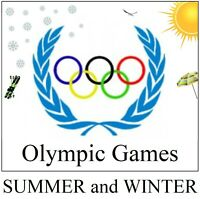 Stamps albums to print  OLYMPIC GAMES