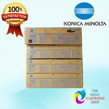 New & Original Konica A04P131 A04P231 A04P331 A04P431 Full Toner Set CMYK C6500
