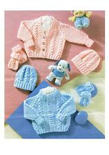c54dea5f1 Baby DK Double Knit Cardigans Patterns