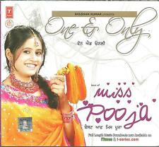 ONE & ONLY - MISS POOJA  - BRAND NEW BHANGRA CD - FREE UK POST
