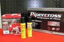 Kit pulizia Olio Sgrassatore Detergente Filtro pannello Pipercross BMC K&N 100ml