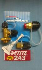 ROBINAIR, Vacuum Pump, Universal Inlet Tee Kit, 3/8NPTM x 1/4MF x 1/4MF, #T3-10C
