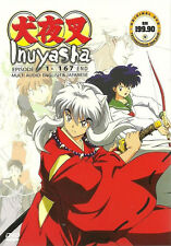 Inuyasha - Complete TV Series (TV 1-167 End) DVD - Eng Dubbed + BONUS DVD