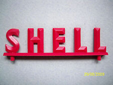 ENSEIGNE  SHELL  POUR  GARAGE  STATION  SERVICE  NIL  VROOM  1/43  ACCESSORIES