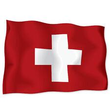 "SWITZERLAND Flag car bumper sticker decal 6"" x 4"""