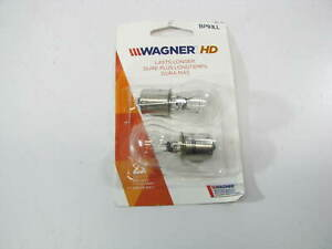 (2) Wagner BP93LL Long Life Minature Lamp Light Bulb
