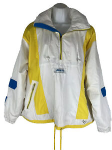 OBERMEYER GORE-TEX Women's Size 14 1/4 Zip Hooded Snowboard Ski Jacket