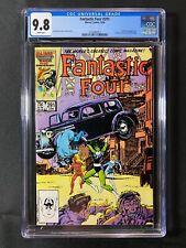 Fantastic Four #291 CGC 9.8 (1986) - Nick Fury app - Action Comics #1 cover