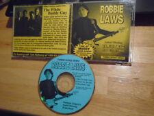 VERY RARE PROMO Robbie Laws DEMO CD 1997 blues guitar Takin' the Night Train 3tr