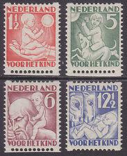 R86-89 Roltanding kinderzegels 1930 postfris (MNH)