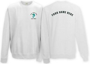 Fishing club Sweatshirt with customised logo! Rear text also available! Design 2