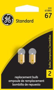 License Light Bulb-Sedan GE Lighting 67/BP2