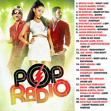 Pop Radio Bruno Mars Calvin Harris Ed Sheehan Arianna Grande Mixtape April 2017