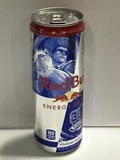 Red Bull Street Fighter V 12oz Can. One Full Collectors Can