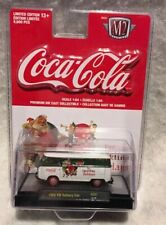 M2 Machines Coca-Cola 1960 VW Delivery Van For Sparkling Holidays Free Shipping!