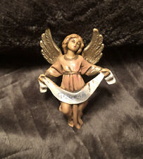 FONTANINI ITALY, GLORIA ANGEL - HANGING Angel #24 Pink Tunic 2.5 Inches