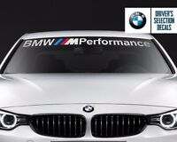 BMW Windshield BMW M Performance windows sticker decal graphic