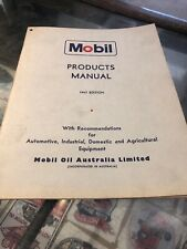 Mobil Products Manual 1967 Edition