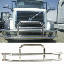Deer Guard Polishing Steel for Volvo VNL 2004-17 Bracket Gril Semi Truck Bumper