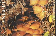 Guyana block143 (complete issue) used 1991 Mushrooms