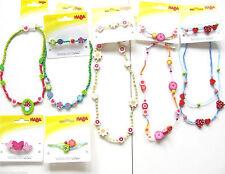 Halskette Armband Haarspange Haba NEU Auswahl Kinder Schmuck Kette Haar-Spange