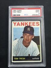 1964 TOPPS #395 TOM TRESH NEW YORK YANKEES PSA 9 MINT A2528