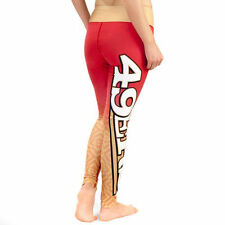 NEW SAN FRANCISCO SF 49ers NFL GRADIENT LEGGINGS LOUNGE PANTS Womens XS Small