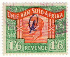 (I.B) South Africa Revenue : Duty Stamp 1/6d (language error)